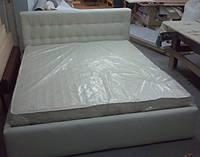 Двуспальные кровати с подъемным механизмом, кровати с мягким изголовьем