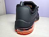 Чоловічі кросівки в стилі найк Air Presto BRS 1000 Black Red, фото 5