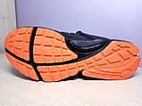 Чоловічі кросівки в стилі найк Air Presto BRS 1000 Black Red, фото 6
