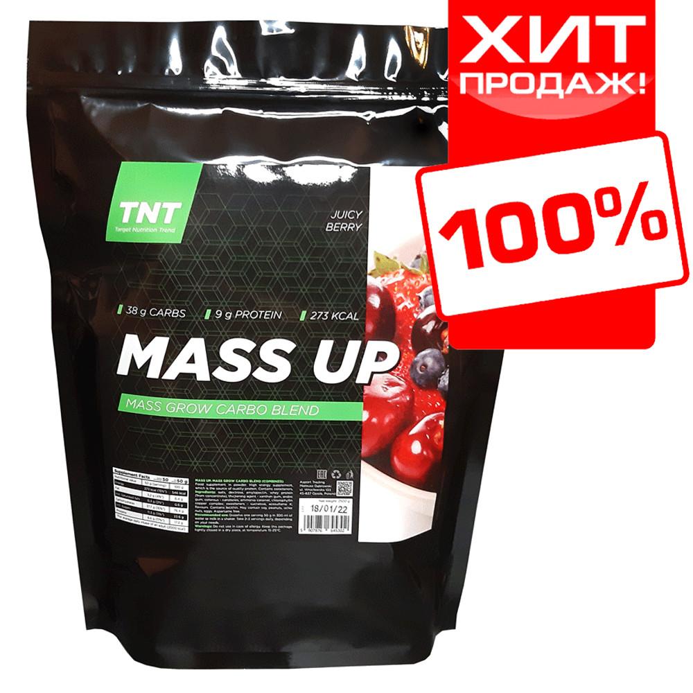 Гейнер для набора массы и веса MUSS UP TNT Target Nutrition Trend 2 кг. Польша (сочная ягода) на развес