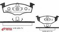 Тормозные  колодки передние POLO (95-09г) ,SKODA FABIA (07г-Выпускается),060910
