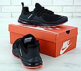 Чоловічі кросівки в стилі найк Air Presto BRS 1000 Black Red, фото 10