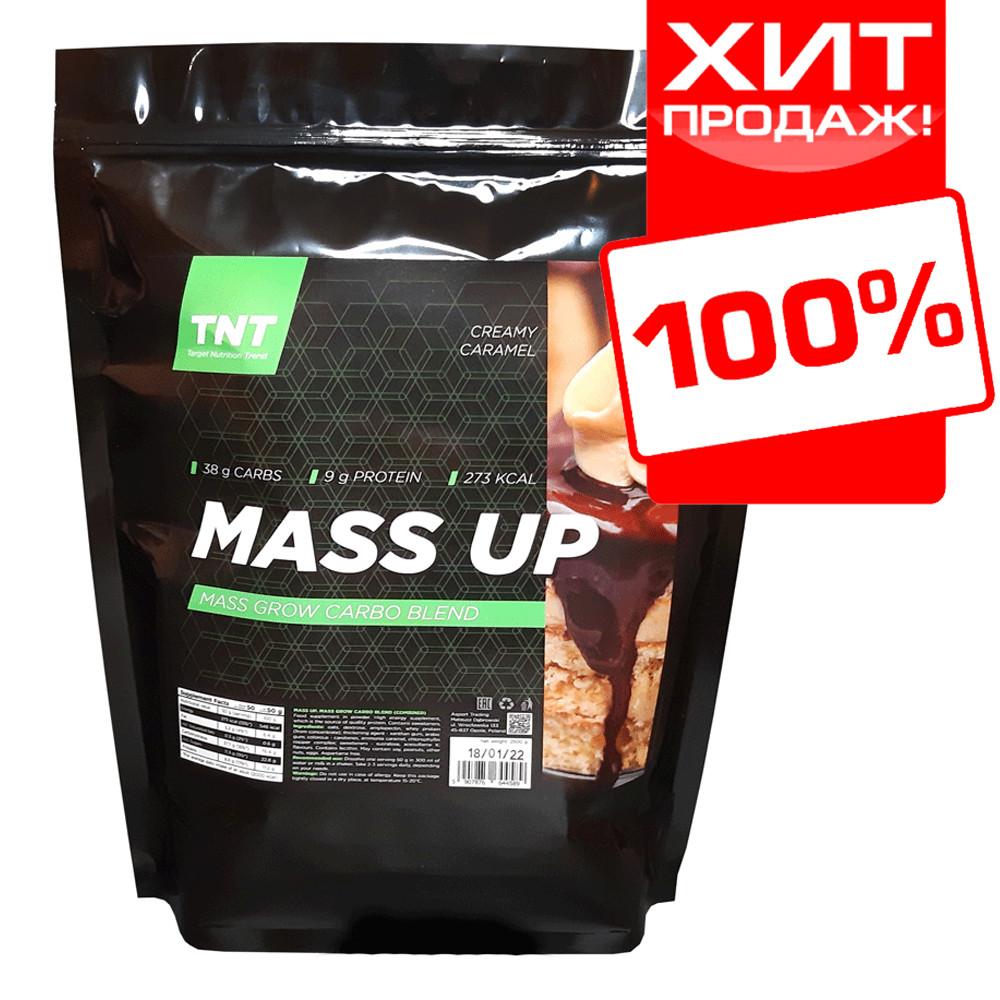 Гейнер MUSS UP для набора веса массы худым TNT Target Nutrition Trend 2 кг. Польша (сливочная карамель)
