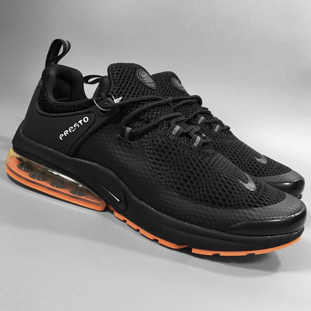 Чоловічі кросівки в стилі найк Air Presto BRS 1000 Black Red