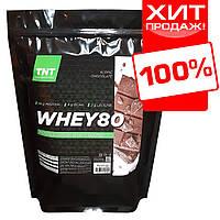 WHEY 80 Протеин для роста мышц TNT Target-Nutrition-Trend 2 kg. Poland (альпийский шоколад)