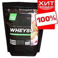 WHEY 80 Протеин сывороточный TNT Target-Nutrition-Trend 2 kg. Poland (банановый пончик)