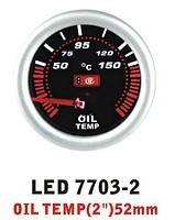 Дополнительный прибор Ket Gauge LED 7703-2 температура масла. Дополнительный прибор