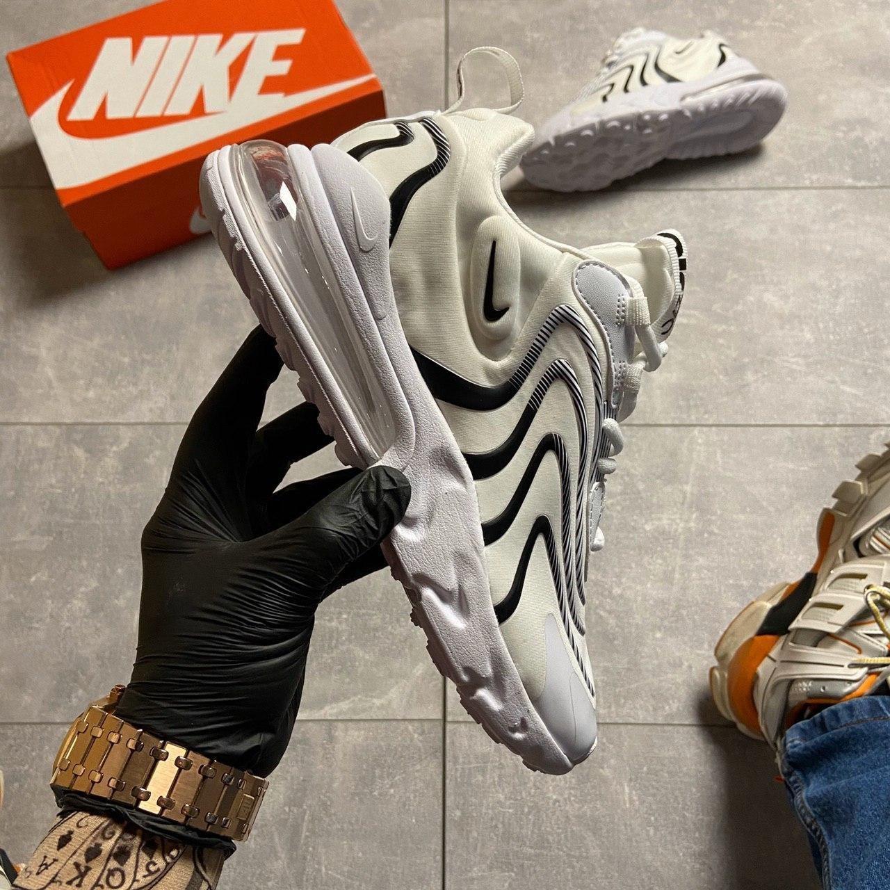 🔥 ВИДЕО ОБЗОР 🔥 Nike Air Max 270 React Eng White Black Найк Аир Макс 270 🔥 Найк мужские кроссовки 🔥