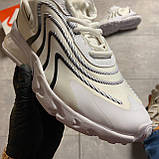 🔥 ВИДЕО ОБЗОР 🔥 Nike Air Max 270 React Eng White Black Найк Аир Макс 270 🔥 Найк мужские кроссовки 🔥, фото 2