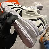 🔥 ВИДЕО ОБЗОР 🔥 Nike Air Max 270 React Eng White Black Найк Аир Макс 270 🔥 Найк мужские кроссовки 🔥, фото 6