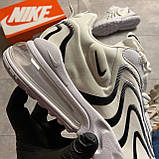🔥 ВИДЕО ОБЗОР 🔥 Nike Air Max 270 React Eng White Black Найк Аир Макс 270 🔥 Найк мужские кроссовки 🔥, фото 9
