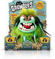 Интерактивная игрушка Монстр Тремор Зеленый Grumblies Tremor Green от Pomsies, оригинал из США, фото 1