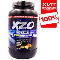 Протеин для роста мышц с ВСАА XZO Nutrition (ирис-карамель) Комплексный + ВСАА
