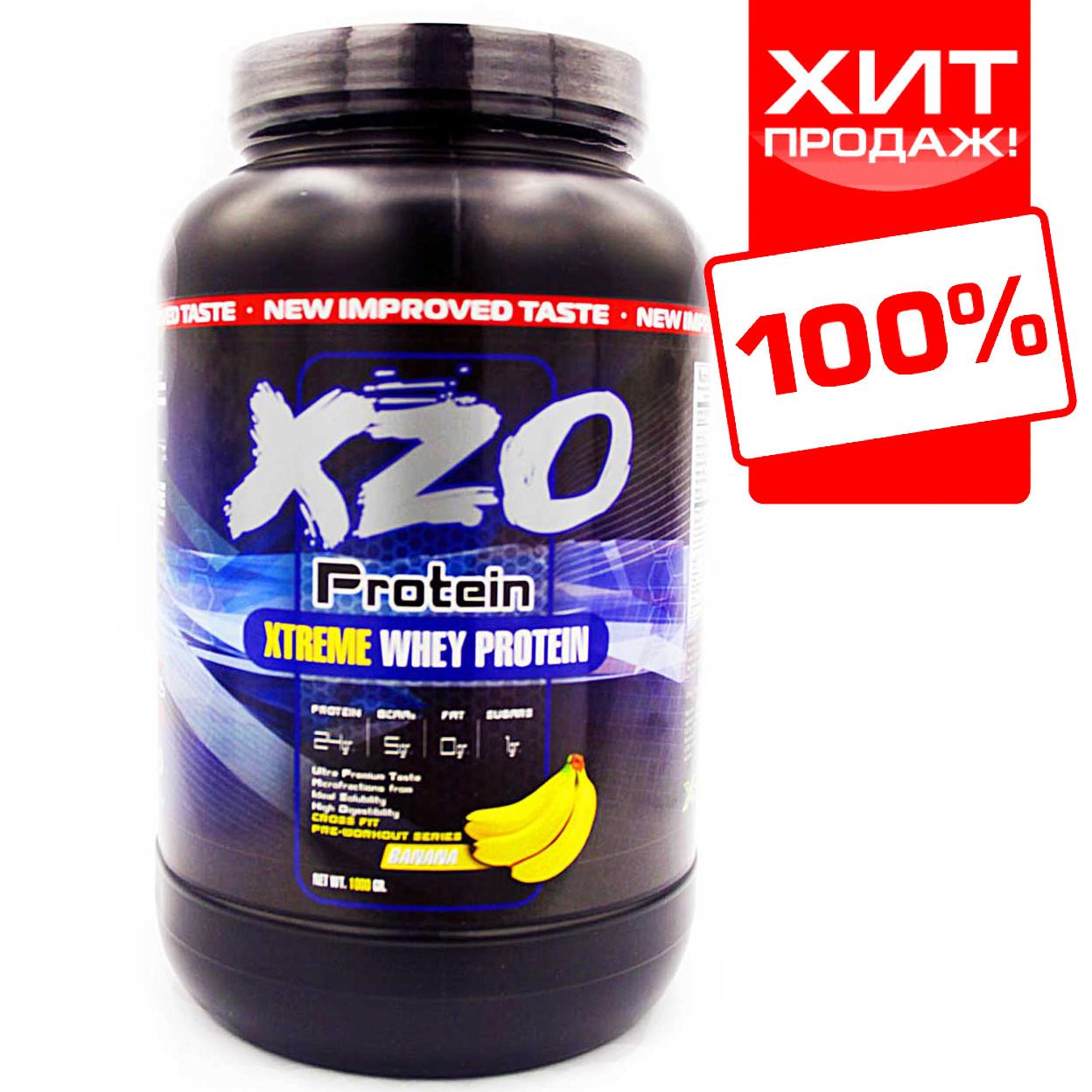 Комплексний протеїн для росту м'язів з ВСАА XZO Nutrition (банан)