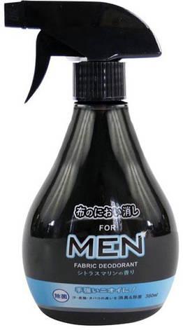 Освежитель и ароматизатор спрей GEL для мужской одежды, белья и мебели с ароматом Цитруса 380 мл (821757), фото 2