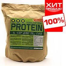 Сироватковий протеїн для набору маси і ваги 78% білка на вагу (тертий шоколад)