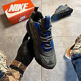 Мужские кроссовки Nike Air Max 270 React, Мужские Найк Аир Макс 270 серые мужские кроссовки, фото 2