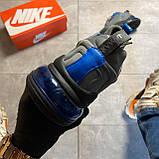 Мужские кроссовки Nike Air Max 270 React, Мужские Найк Аир Макс 270 серые мужские кроссовки, фото 3