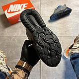 Мужские кроссовки Nike Air Max 270 React, Мужские Найк Аир Макс 270 серые мужские кроссовки, фото 5