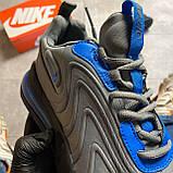 Мужские кроссовки Nike Air Max 270 React, Мужские Найк Аир Макс 270 серые мужские кроссовки, фото 4