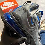Мужские кроссовки Nike Air Max 270 React, Мужские Найк Аир Макс 270 серые мужские кроссовки, фото 6