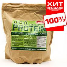 Сироватковий протеїн для набору маси 78% білка (малина) ваговий