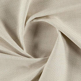 Ткань для дивана рогожка Кафе Ристретто (Cafe Ristretto) светло-бежевого цвета