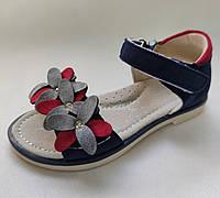 Детские сандалии сандали босоножки для девочки синие Tom.m 28р 17.3см