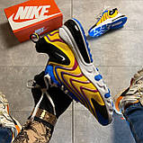 🔥 Nike Air Max 270 React Eng Yellow Blue Найк Аир Макс 270 🔥 Найк мужские кроссовки 🔥, фото 2