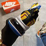🔥 Nike Air Max 270 React Eng Yellow Blue Найк Аир Макс 270 🔥 Найк мужские кроссовки 🔥, фото 4