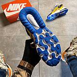 🔥 Nike Air Max 270 React Eng Yellow Blue Найк Аир Макс 270 🔥 Найк мужские кроссовки 🔥, фото 9