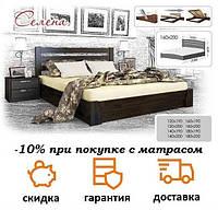 Кровать деревянная с подъемным механизмом Селена фабрика Эстелла