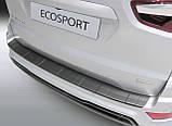 Пластикова захисна накладка на задній бампер для Ford Ecosport LIFT 2017>, фото 2