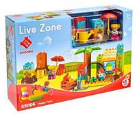 Конструктор Smoneo Live Zone 55006 Веселая ферма Детская площадка (аналог Lego Duplo)