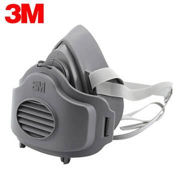 Респиратор полумаска 3М 3200 с фильтром 3701 CN (1 шт)
