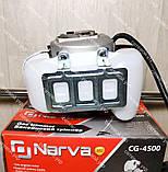 Коса бензиновая Narva CG-4500 (3 ножа+1 катушка), фото 5