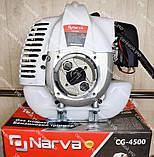 Коса бензиновая Narva CG-4500 (3 ножа+1 катушка), фото 3