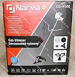 Коса бензиновая Narva CG-4500 (3 ножа+1 катушка), фото 10