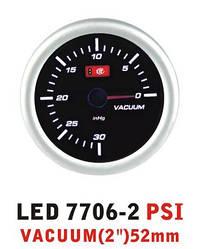 Дополнительный прибор Ket Gauge LED 7706-2 вакуум