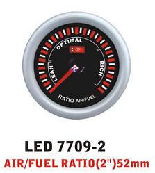 Дополнительный прибор Ket Gauge LED 7709-2 экономайзер Air Fuel состав смеси
