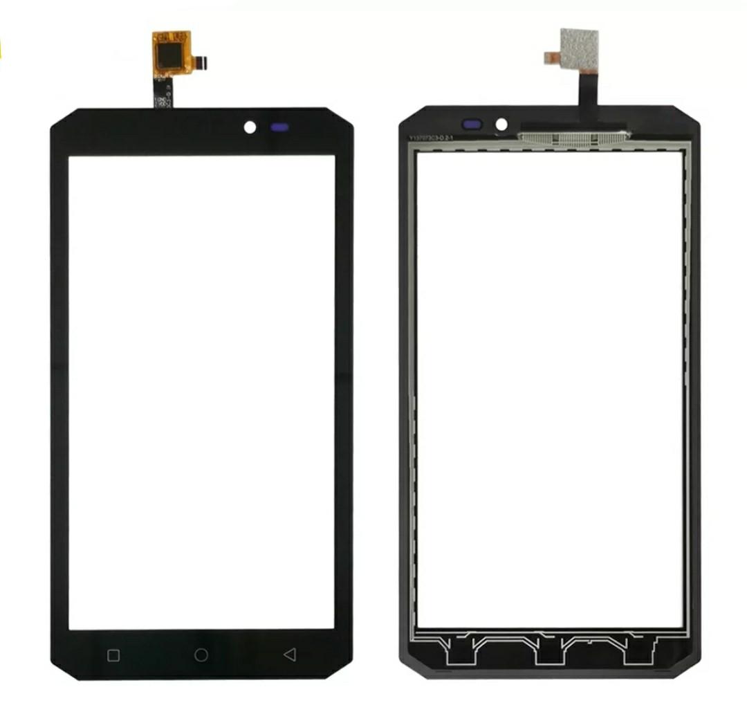 Touchscreen (сенсор) для Oukitel K10000 MAX Чорний