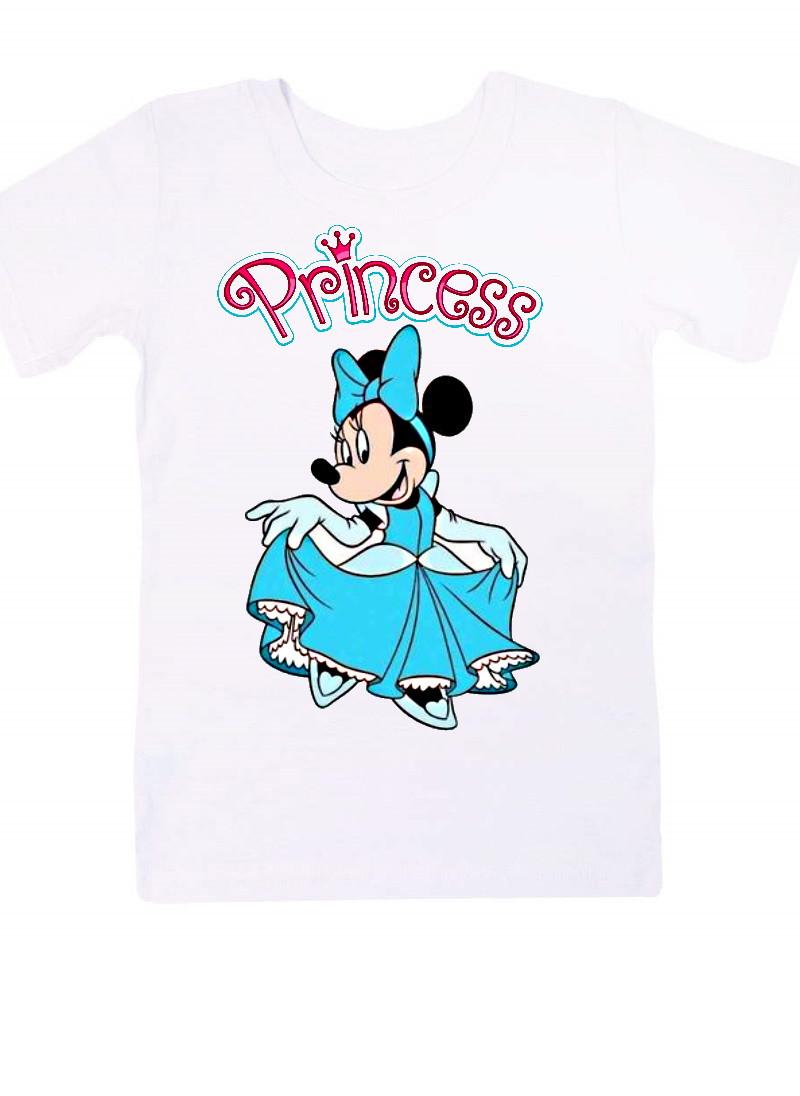 Футболка для дівчаток. Принцеса Міккі