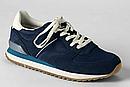 Синие замшевые   кроссовки сникерсы Ландсенд Lands End  (Размер 25,5 см) Оригинал, фото 2