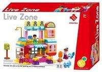"""Конструктор Smoneo Live Zone """"Вкусный ресторан"""" 55002 (аналог Lego Duplo) 81 дет."""