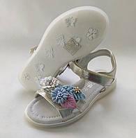 Детские сандалии сандали босоножки для девочки золотистые Tom.m 32р 21см
