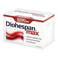 Diohespan max 1000 мг - для повышения тонуса венозных сосудов, 60 шт