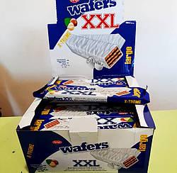 """Вафлі """"Wafers"""" в білому шоколаді 55 гр 24 шт"""