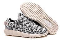 Мужские кроссовки в стиле Adidas Yeezy Boost 350, серые 42(26,5 см), последний размер