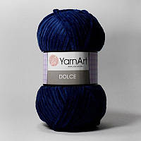 Пряжа Dolce 100гр - 120м (756 Синий) YarnArt