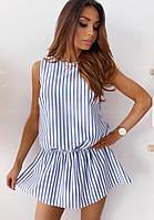 Платье женское летнее в полоску 42-44 44-46
